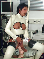 Bizarre anal stretching