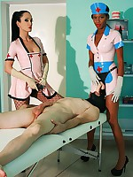 Latex nurses stretch every hole