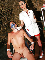 Sadistic dentist in the dungeon