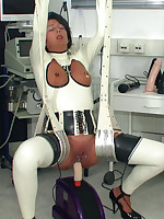 Bizarre anal stretching picture #11