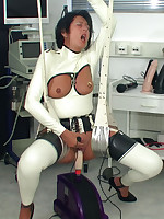 Bizarre anal stretching picture #12