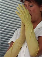 Rubber gloves enema picture #12