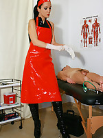 Kinky and deep anal examination picture #2