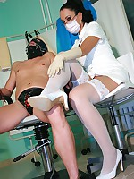 Fetish dentist has some kinky fun picture #8