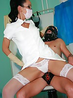 Fetish dentist has some kinky fun picture #9