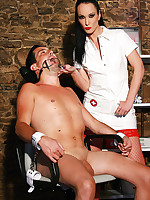 Sadistic dentist in the dungeon picture #2
