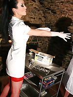 Sadistic dentist in the dungeon picture #6