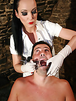 Sadistic dentist in the dungeon picture #7
