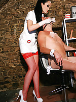 Sadistic dentist in the dungeon picture #9